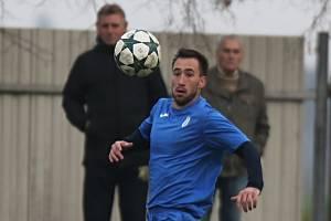 Roman Sokol - kapitán SK Vinařice // SK Vinařice - Baník Švermov 3:4, OP Kladno, 4. 11. 2017