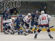 Kladno porazilo Piráty 2:1 dvěma góly z hokejky Jaromíra Jágra.