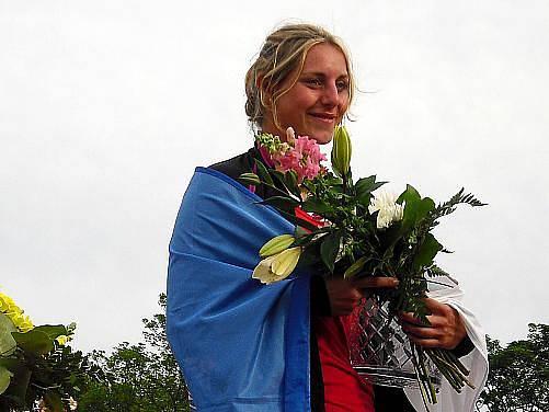 Eliška Klučinová udělala svým vítězstvím na domácí půdě Kladeňákům ohromnou radost.