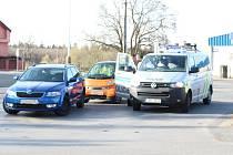 Nehoda se stala v Kladně-Rozdělově na křižovatce v pátek 31. března kolem 17. hodiny.