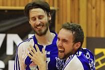 Brownhouse Volleyball.cz Kladno - Dukla Liberec 3:2 , finále  volejbalové Kooperativa ligy mužů 2009/10, hráno 1. 5. 2010