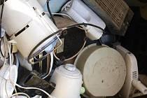 Odpad na sběrném dvoře