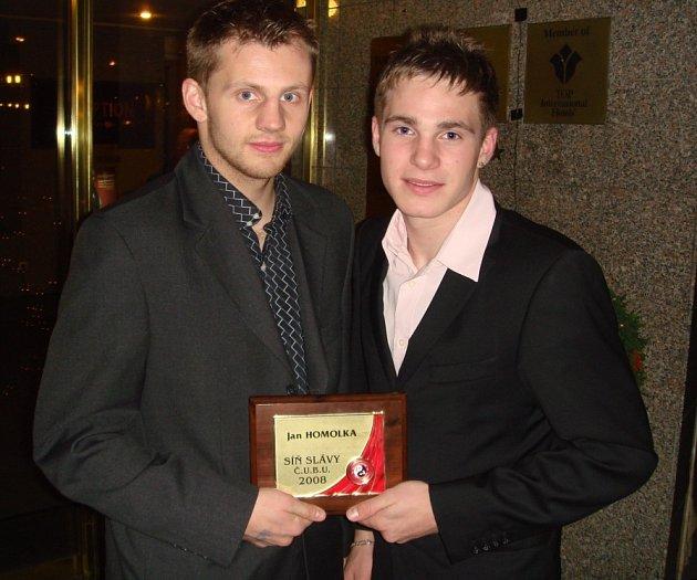 Jan Homolka (vlevo) a Tomáš Möstl.