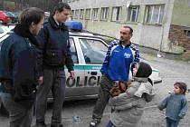 Výjezdy policistů k masokombinátu bývaly poměrně časté.