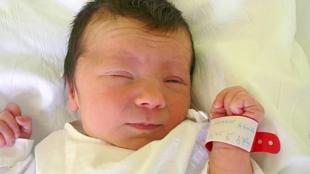 Viktorie Anna Bočková, Chýně. Narodila se 2. května 2014. Váha 2,86 kg, míra 46 cm. Rodiče jsou Tereza a Milan Bočkovi (porodnice Kladno).