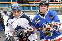 Kladno - Karviná 4:0, Tomáš Sýkora a Jan Blatoň.