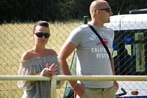 Jaromír Šilhan jde do Roudnice, zápasu přihlížel s přítelkyní.