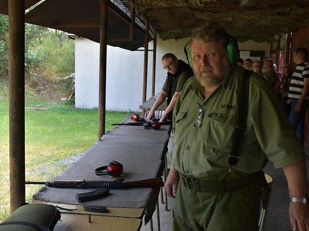 Legionáři na střelnici v Družci stříleli již po sedmé.
