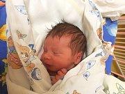 MATYÁŠ POLOMSKÝ, KLADNO. Narodil se 16. prosince 2017. Po porodu vážil 2,84 kg a měřil 47 cm. Rodiče jsou Kristýna Honsová a Matěj Polomský. (porodnice Slaný)