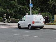Vážná nehoda se stala v pátek dopoledne nedaleko kladenského gymnázia. Auto zde srazilo chodkyni.