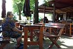 Restaurace Na Střelnici ve Slaném.