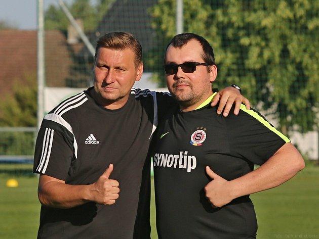 Fotbalový den v divizní Hostouni / Nábor a ukázkový trénink pod patronací Horsta Siegla / 12. 6. 2017