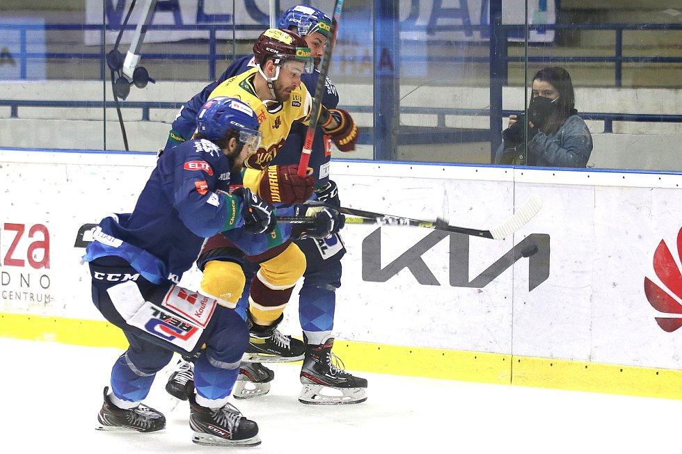 Chance liga, Kladno - Jihlava, 5. zápas vyhráli hosté 2:1
