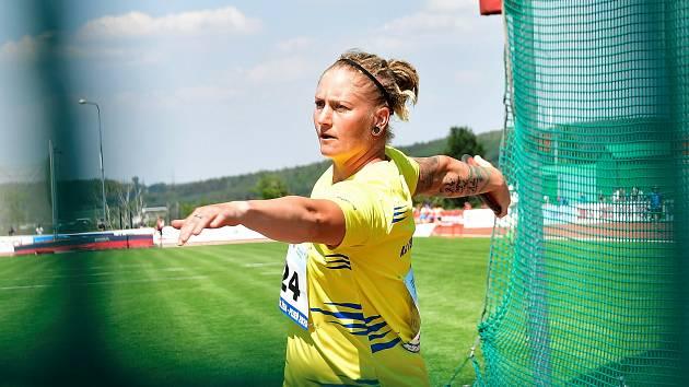 Diskařka Eliška Staňková
