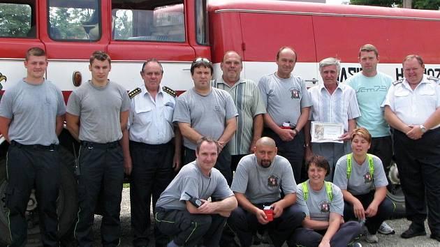 Oslavy 125. výročí založení hasičského sboru v Hospozíně.