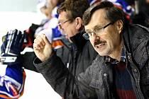 Dlouholetý manažer hokejových Řisut Ivan Záleský. Foto: Roman Mareš