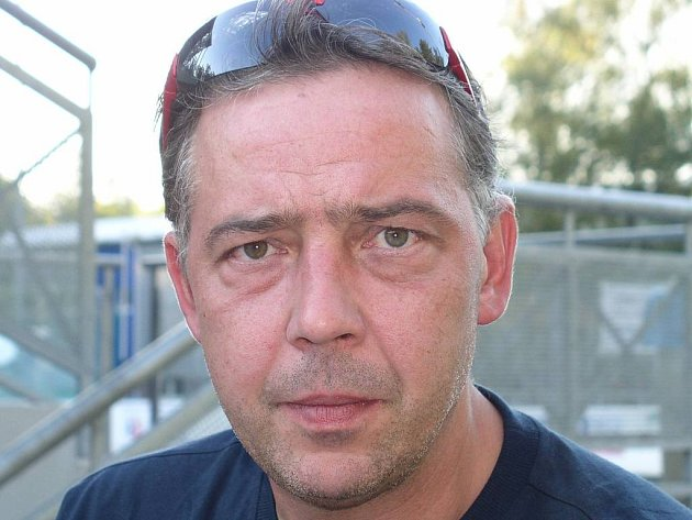 Kouč hokejbalistů Alpiqu Kladno a nároďáku Drahomír Kadlec.