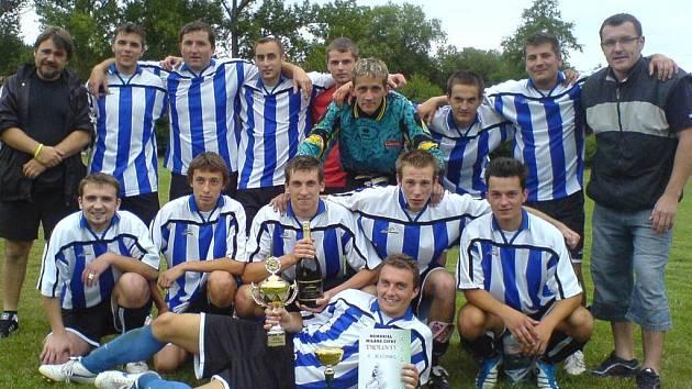 Vítěz turnaje v Pozdni - SK Zichovec.