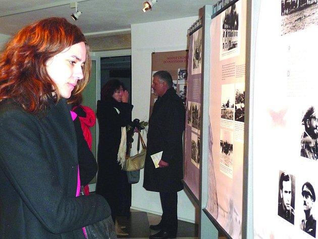 Jednou z akcí je i výstava o  účasti Čechů ve Slovenském národním povstání.