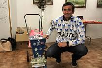 Padesátiny oslavil Radek Duda, jeden z nejlepších fotbalistů Kladenska za posledních třicet let.