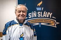 Zdeněk Nedvěd, nový člen Síně slávy kladenského hokeje.