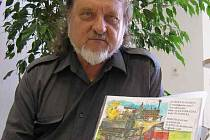 Kladenský výtvarník  Přemysl Povondra v současné době pracuje na své nové knize, která bude tentokrát pojednávat o vlacích a nádražích.