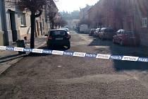 Policejní akce ve Vepřkově ulici