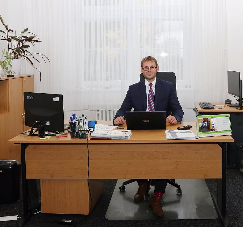 Ředitel kladenské střední odborné školy Petr Paták.