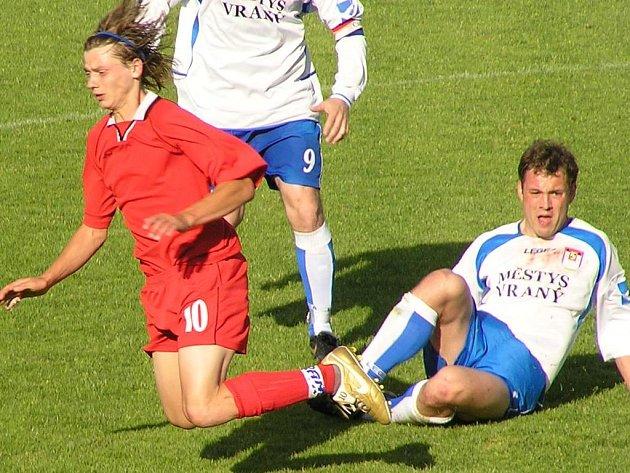 Marcel Kedroň (vlevo) zachránil svoje Happy od porážky s Literpoolem.
