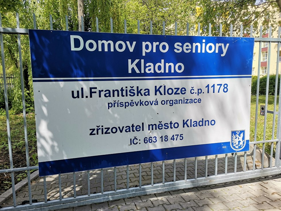 Domov pro seniory v Kladně.