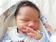 JAN LACKO, LOUNY. Narodil se 2. dubna 2018. Po porodu vážil 3,64 kg a měřil 52 cm. Rodiče jsou Helena a František Lackovi. (porodnice Slaný)