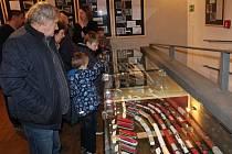 Návštěvníci se mohou kochat precizní prací modelářů.