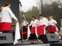 Taškafest v areálu Hornického skanzenu Mayrau ve Vinařicích.
