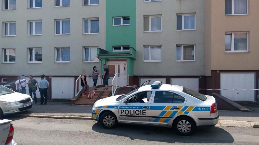 Neštěstí se stalo v Bezručově ulici ve Slaném.