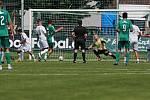 Sokol Hostouň - Aritma Praha 2:0, přátelské přípravné utkání 24. 7. 2021