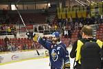 Kladno vyhrálo v Českých Budějovicích 4:2 a slaví návrat do extraligy.