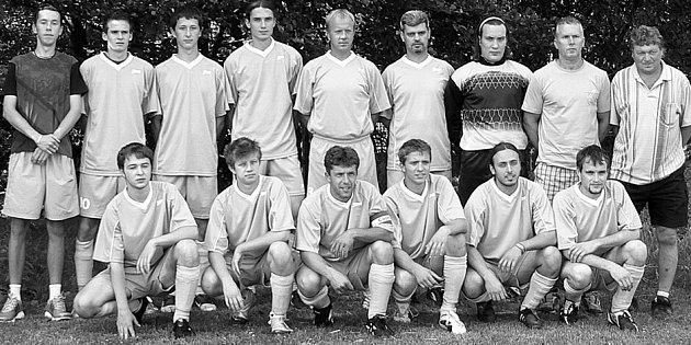 Vítěz III. třídy B - fotbalisté Otvovic.