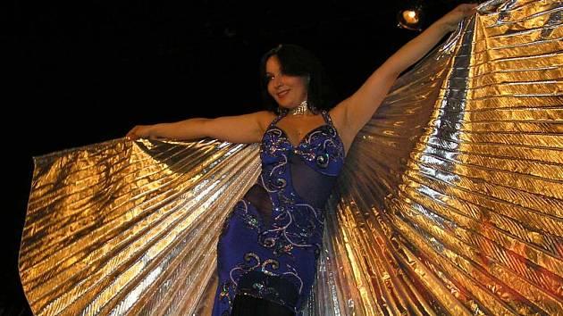 Finále soutěže Miss břišního tance se uskutečnilo v Kladenském divadélku