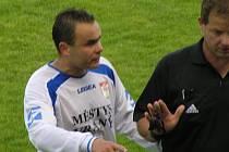Michal David dva góly dal, ale měl ještě jednu tutovku, kterou prováhal.