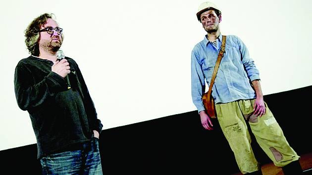 Režisér Jan Hřebejk přijel na kladenskou Klapku jako čestný host. Diskuse s diváky trvala téměř hodinu.