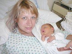 Matyáš Levý, Kladno. Narodil se 23. března 2014. Váha 3,77 kg, míra 52 cm. Rodiče jsou Nikola Garažiová a Radek Levý (porodnice Kladno).