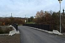 Most ve Slaném už je průjezdný.