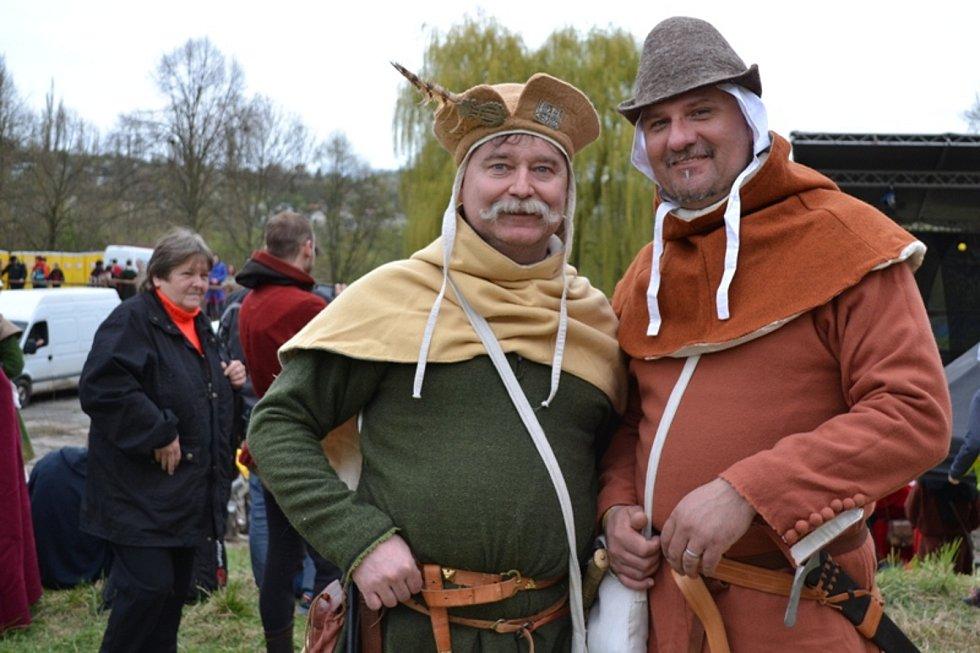 Z minulých ročníků bitvy u Libušína.
