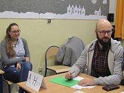 Prezidenstké volby v ZŠ Komenského Slaný