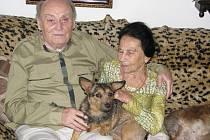 Jaroslav a Oluša Falcovi jsou manželé 65 let