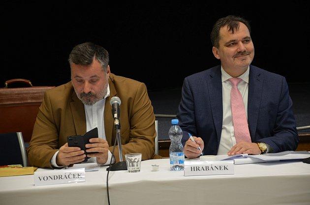 Starostou Slaného zůstává i nadále Martin Hrabánek.