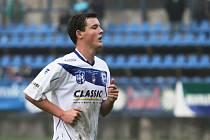 Filip Suchý - střelec branky Kladna // SK Kladno - FC Viktoria Plzeň 1:3 , Pohár České pošty, 3. kolo, 12.10.2013