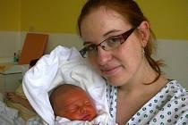 Filip Kozelka, Kladno. Narodil se 6. prosince 2012. Váha 3,40 kg, míra 47 cm. Rodiče jsou Radka Syblíková a Filip Kozelka (porodnice Kladno).