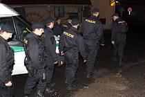 Policejní akce 30. května v Kladně.