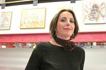 NOVÁ EXPOZICE OBRAZŮ v předsálí domu kultury nabízí tematické díla Prahy, ale i  Blízkého východu, kde autorka děl, Zuzana Karásková, několik let žila.